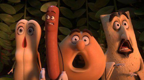 Ojo con La fiesta de las salchichas, que a pesar de ser una propuesta de animación está dirigida al público adulto, aunque conociendo cómo se trata por aquí al género es probable que haya más de una confusión en las salas de cine. Los personajes sueltan palabrotas sin sonrojo, hay chistes verdes y los alimentos protagonistas van juntos y revueltos.