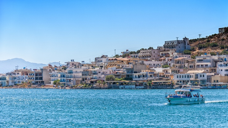 Mirabello bay in Crete. Photo taken by VTAL