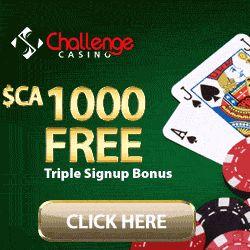 Challenge Casino Signup Bonus