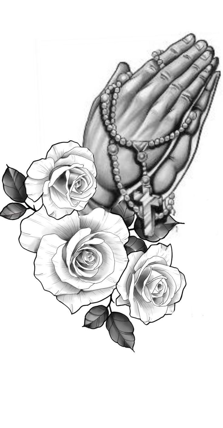34+ Amazing Rosary beads tattoo stencil image ideas