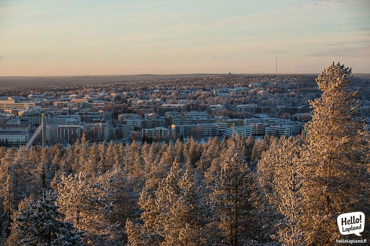 Real winter has finally come to Rovaniemi! November 2013.