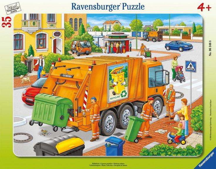 camió escombraries, mirar pg origen waste