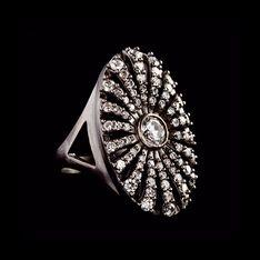 Julie Sandlau - Estate ring (Old Hollywood glam)