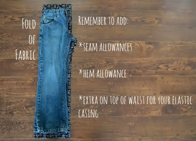 how to make jogger pants without sewing