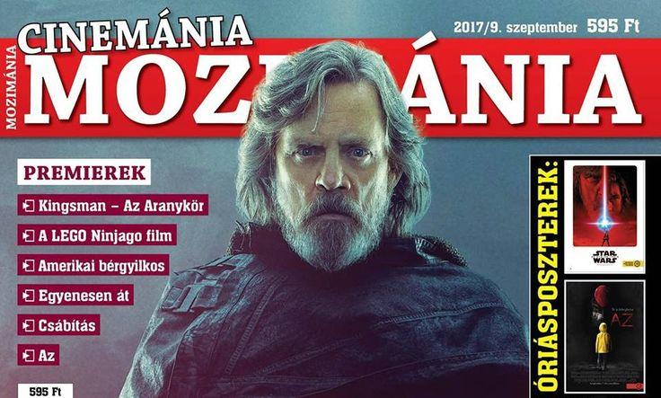 Star Wars: The Last Jedi - Mark Hamill As Luke Skywalker On The Hungarian Movie Magazine. - 「スター・ウォーズ」の最新作「ザ・ラスト・ジェダイ」の伝説のルーク・スカイウォーカーが、暗黒のコスチュームをまとって、ハンガリーの映画マガジンのカバーに登場 - 映画 エンタメ セレブ & テレビ の 情報 ニュース from CIA Movie News / CIA こちら映画中央情報局です