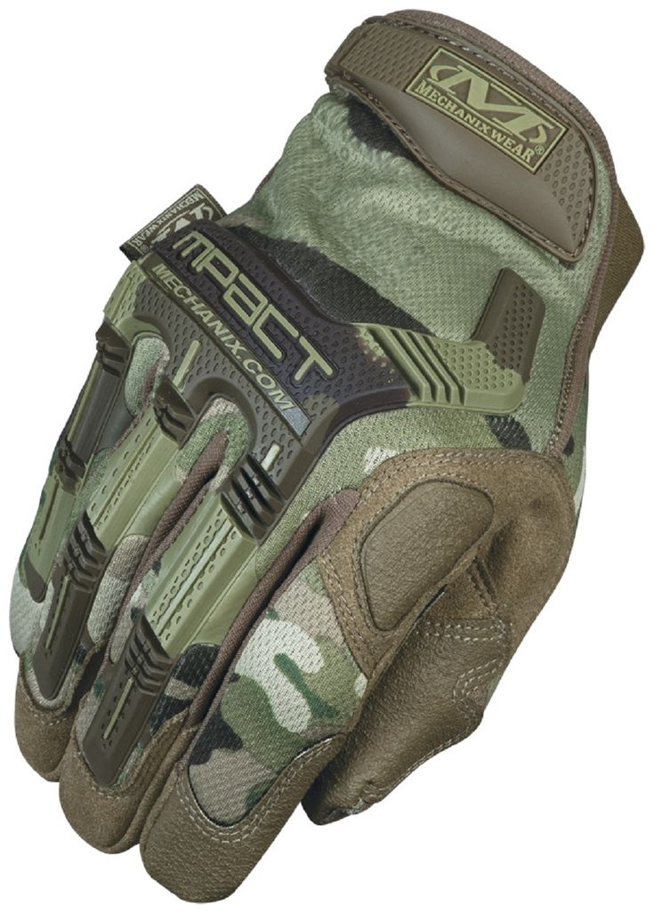 Handschuhe MECHANIX WEAR M-Pact Multicam | S
