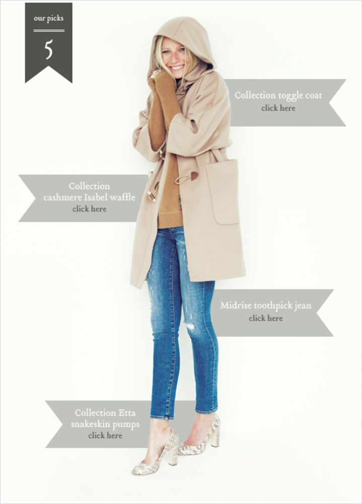 J.Crew Teams Up With Gwyneth Paltrow, Sees 8% Traffic Increase on Site - Fashionista