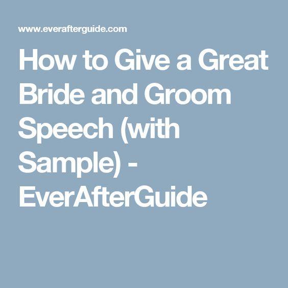 25+ Best Ideas About Bride Speech On Pinterest