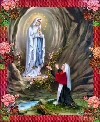 El Rincon de mi Espiritu: Santa Bernardita Soubirous - Vidente de Lourdes - ...