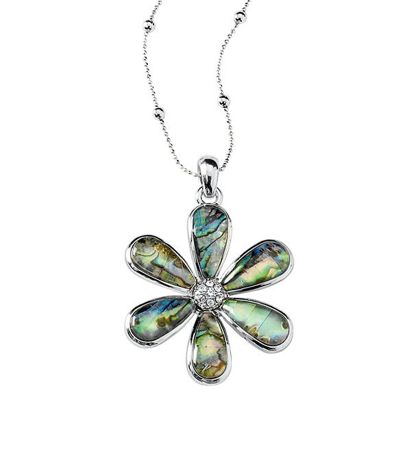194 best lia sophia necklaces silver images on pinterest lia water lily necklace by lia sophia item aloadofball Image collections