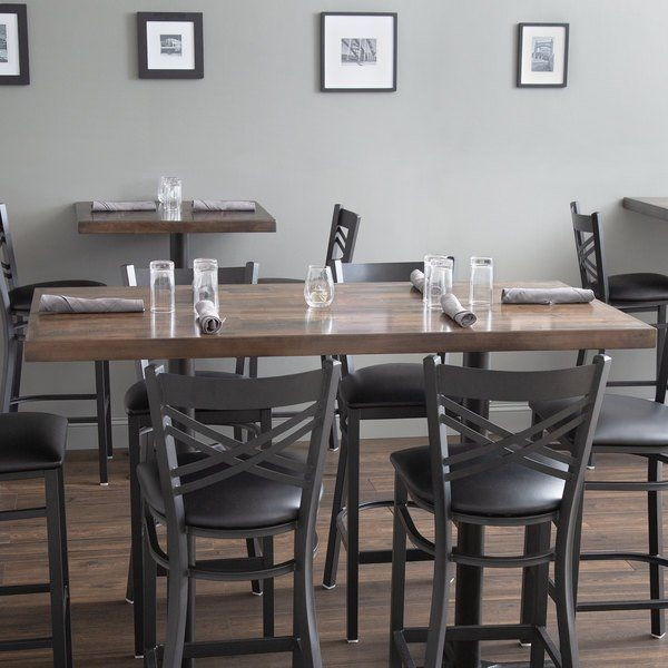 Lancaster Table Seating 30 X 60 Recycled In 2020 Butcher