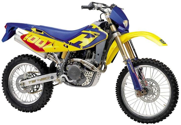TE 450e, 2002-2003