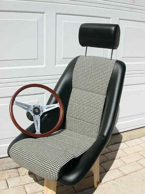 Porsche seats - leather car seats - custom car seats - Recaro car seats - classic car seats