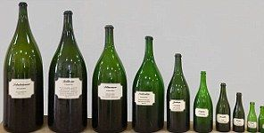 GUIDE TO BIBLICALLY NAMED CHAMPAGNE BOTTLE SIZES  Quarter 18.75 cl - 1/4 bottle Half-Bottle 37.5 cl - 1/2 bottle Bottle 75 cl - 1 bottle Magnum 1.5 litre - 2 bottles Jeroboam 3 litre - 4 bottles Rehoboam 4.5 litre - 6 bottles Methuselah 6 litre - 8 bottles Salmanazar 9 litre - 12 bottles Balthazar 12 litre - 16 bottles Nebuchadnezzar 15 litre - 20 bottles