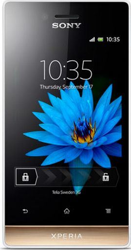 sony mobile. sony reveals xperia miro android 4.0 smartphone ahead of time - mobile has announced a