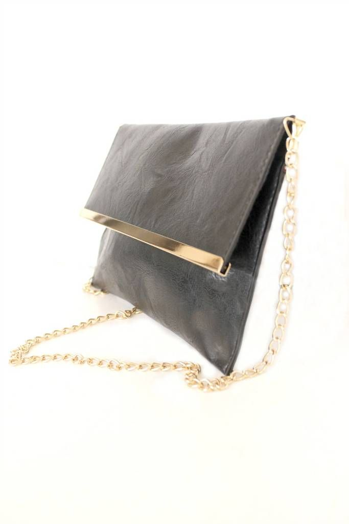 fae7d07c246 Black Leather Clutch Purse Evening Bag in 2019 | Bags Bags & MORE ...