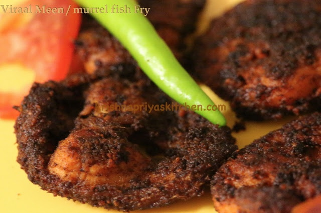 Authentic south indian fish fry