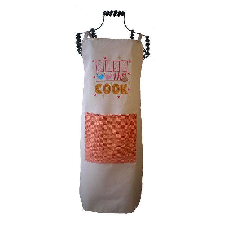 Apron Kiss the Cook   Oficina d'Artesã