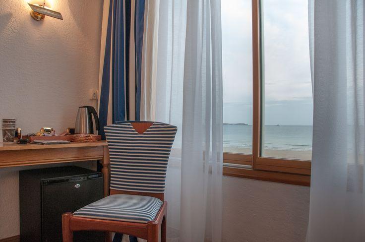 Appartement 6 personnes vue sur mer- Chambre double vue sur mer