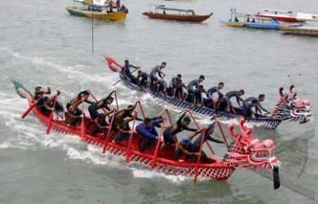 Dragon boat race - Tanjung Pinang