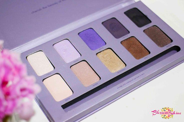 Ultraviolet Makeup - The Stilla In The Moment Eyeshadow Palette . #blossomshine #makeuphaul #stilla #eyeshadow #makeup #stillainthemoment #purpleeyeshadow #ultraviolet #Pantone2018