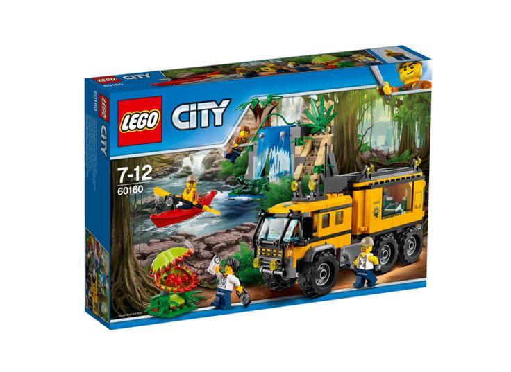 LEGO City 60160 Djungel – mobilt labb
