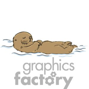 Otter Tattoo Designs | Water Clip Art, Pictures, Vector Clipart, Royalty-Free Images # 1