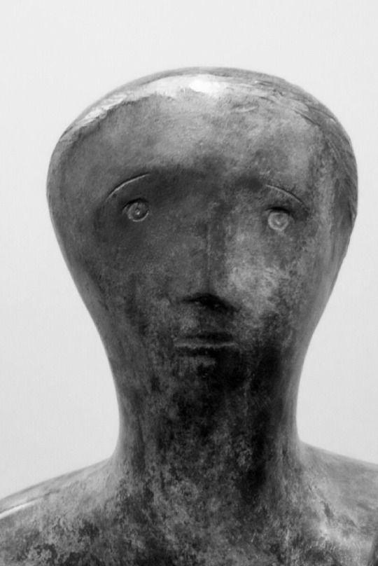 Henry Moore - head www.listen4life.com                                                                                                                                                     More