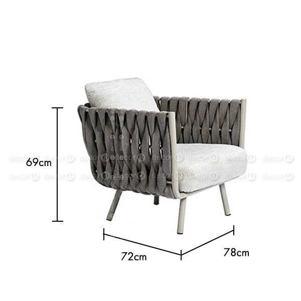 Outdoor Furniture Hong Kong Luxury Outdoor Armchair Jolie Outdoor Armchair Single Seat Lounge In 2020 Contemporary Outdoor Chairs Single Seat Sofa Outdoor Armchair