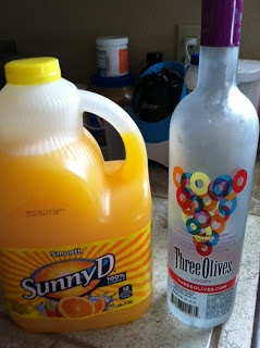 Three Olives Loopy Vodka concoctions