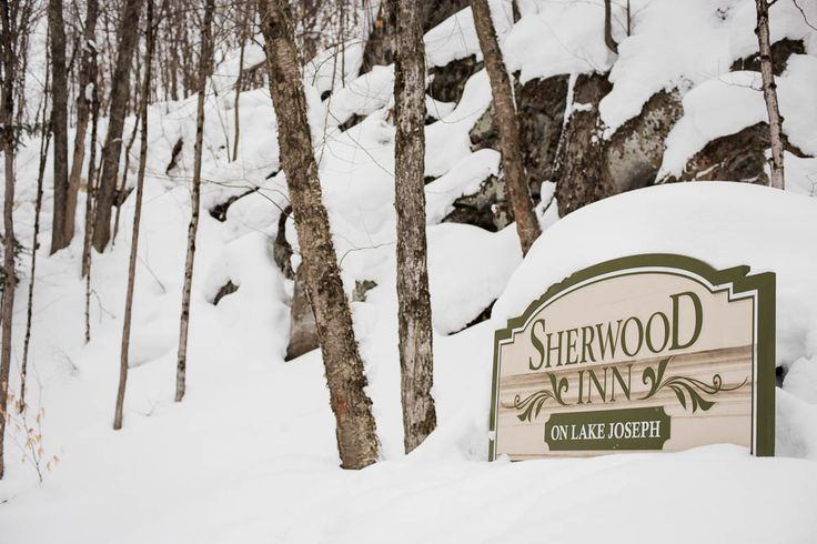 On Muskoka's sparkling Lake Joseph, Sherwood Inn can be found. A gorgeous resort to photograph at year round.