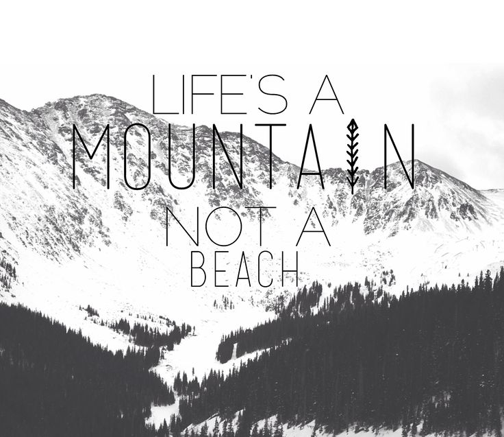 Life's a mountain not a beach. love this!!!! #colorado #snowboarding #winter