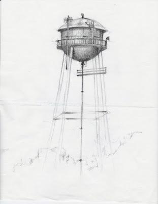Water tower Oviedo