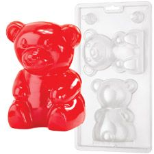 Giant gummy bear- so cute!! Will I ever have a reason to make this??