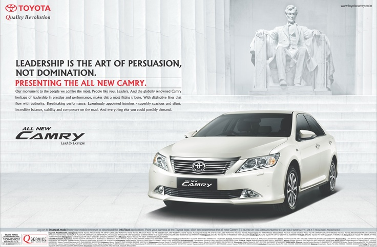 This image is designed for the middle class. But the slogan is trying to make people gain the feeling that the car was actually designed for higher class. The slogan helps people gain confident that every car that the company made was in a good care in each step. In the background there is a sculpture, it demonstrates that the car was not a tools that we used every day, but an artistic piece that was made with enthusiasm.