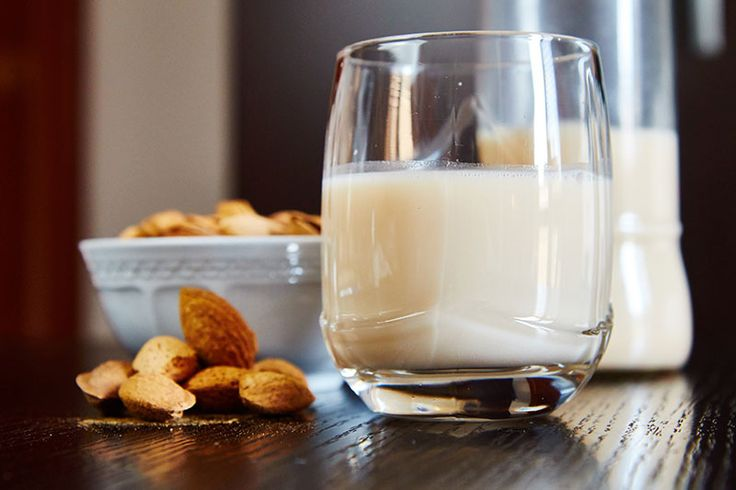 Almond milk! Perfect with my homemade granola!