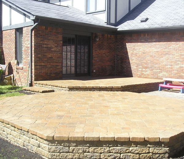 Double Octagon Patio | Landscaping, Plants, Gardening | Pinterest | Brick  Pavers, Landscaping Plants And Walkways