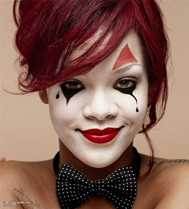 Beautiful mime Rihanna - Worth1000 Contests