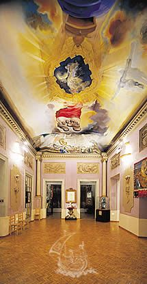 Teatro-Museo Dalí, inaugurado en 1974. y esta ubicado en figueres  donde el artista nacio