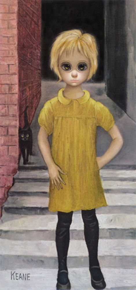 """""""Waif"""" 1961, Everything You Need To Know About Margaret & Walter Keane, Tim Burton's Latest Obsession"""
