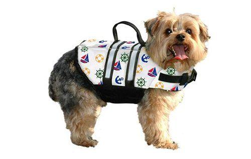 Nautidog - Fido Dog Life Jacket - Dog Life Jackets - Dog life jackets for dogs of all sizes.