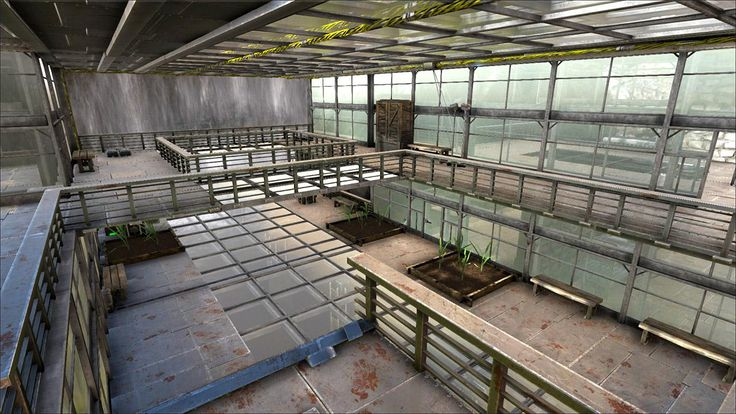 Greenhouse design on Ark Survival Evolved