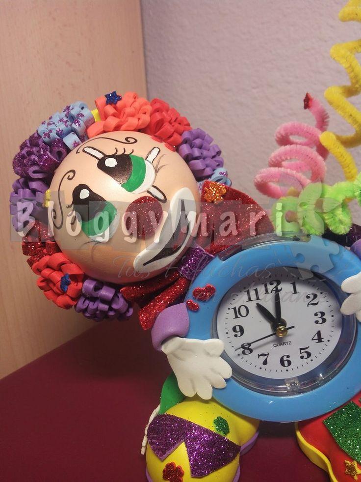 Payaso reloj