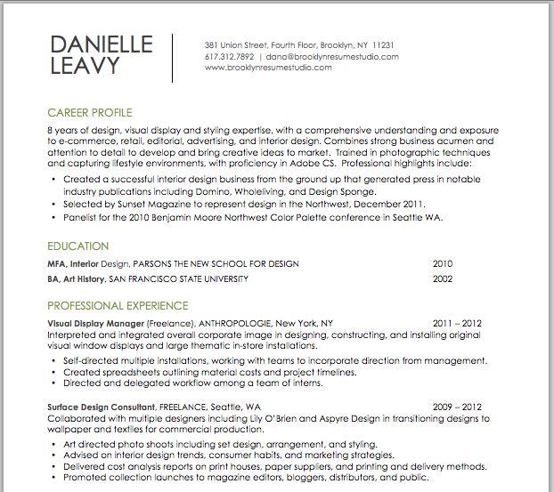 51 best Resume \ Cover Letter Designs images on Pinterest - retail cover letter