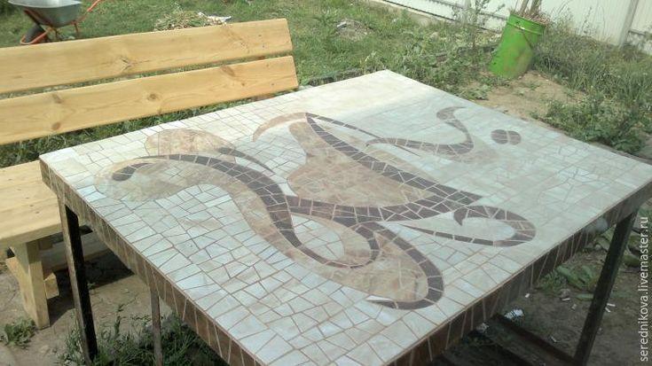 """Создаем стол для веранды """"Кофейная чашка"""" - Ярмарка Мастеров - ручная работа, handmade"""