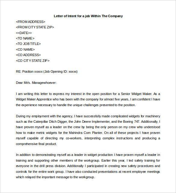 25+ ideias exclusivas de Simple resignation letter format no - letter of intent for employment template