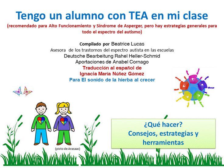 El sonido de la hierba al crecer: Tengo un alumno con TEA en mi clase: estrategias y consejos