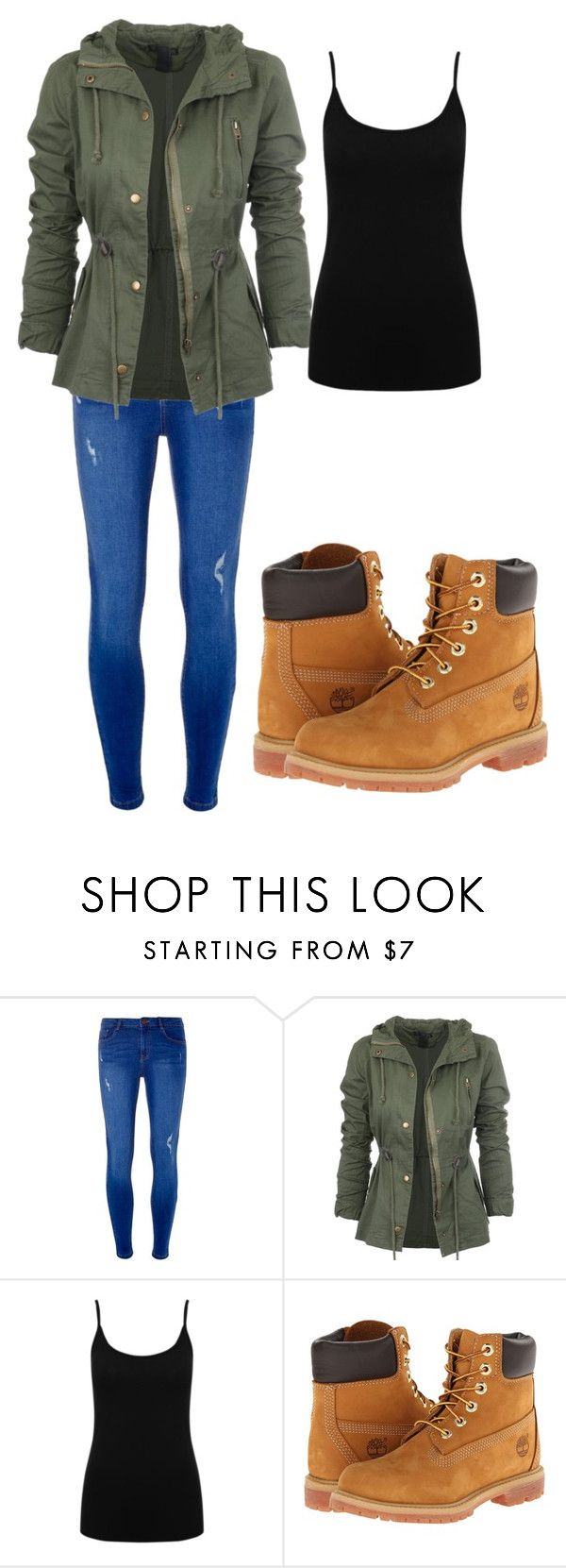 """""""Untitled #2"""" by macaraaa8 on Polyvore featuring Dorothy Perkins, M&Co and Timberland"""