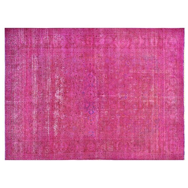 Pre Owned Persian Overdyed Carpet 10 X 13 6 2 599 Style Rugspink