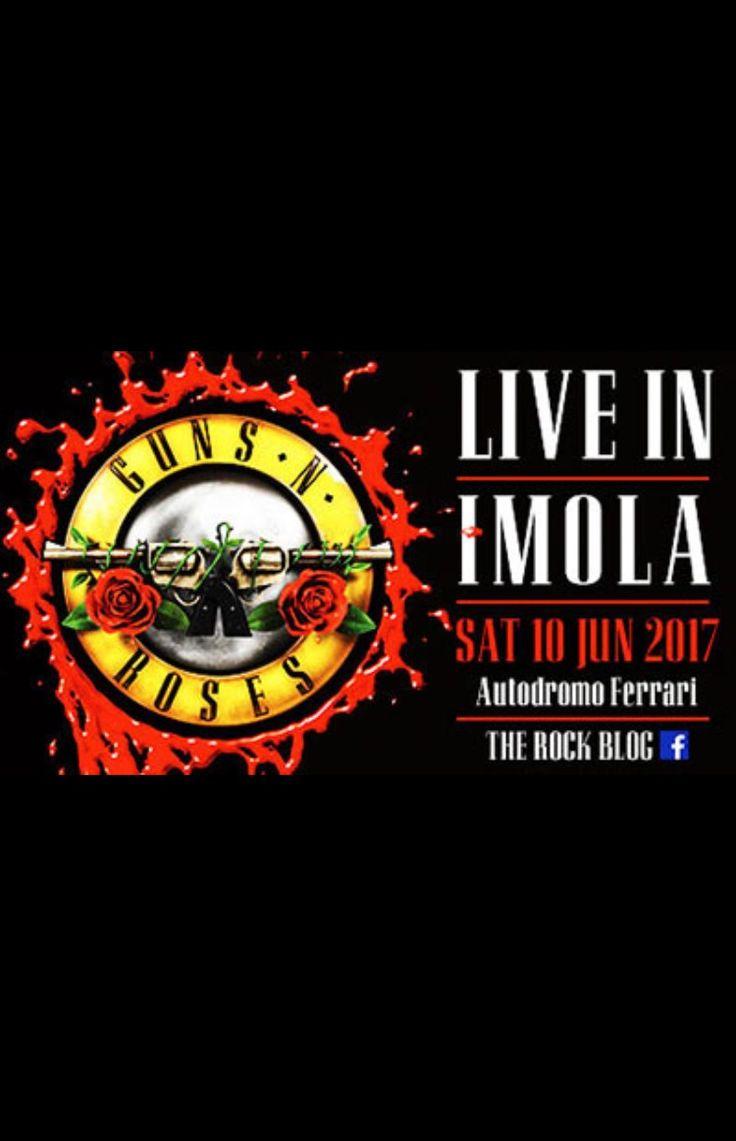 Not in this Lifetime Tour 20/06/2017 Imola  Guns'n Roses